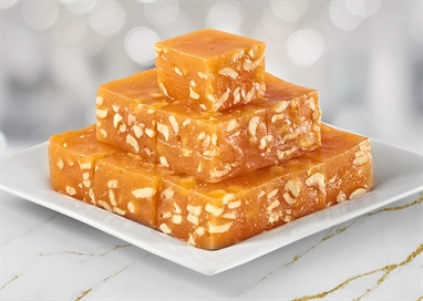 Picture of ORANGE BOMBAY HALWA